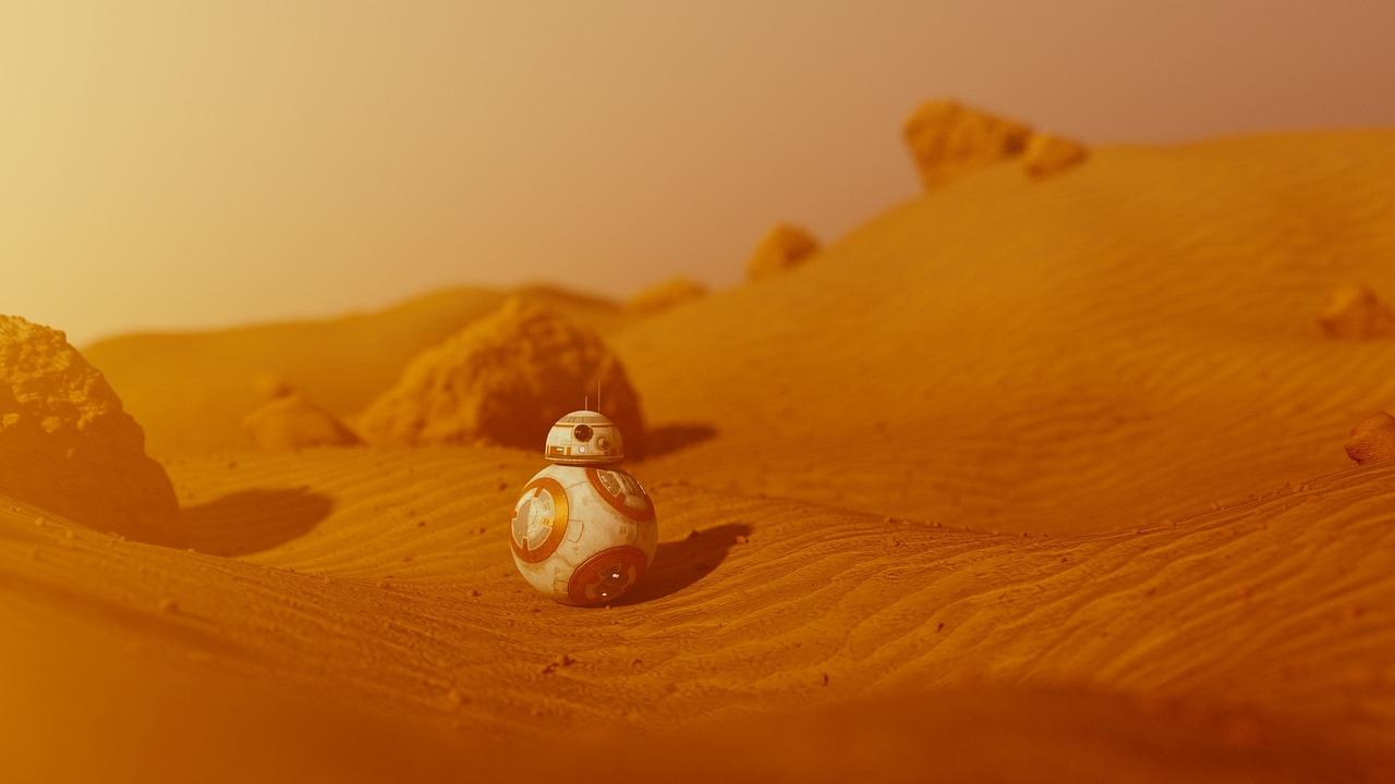 火星のさら地
