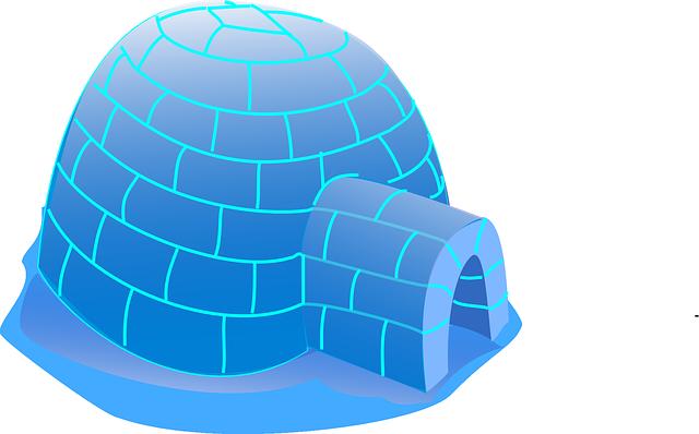 海王星の氷の家