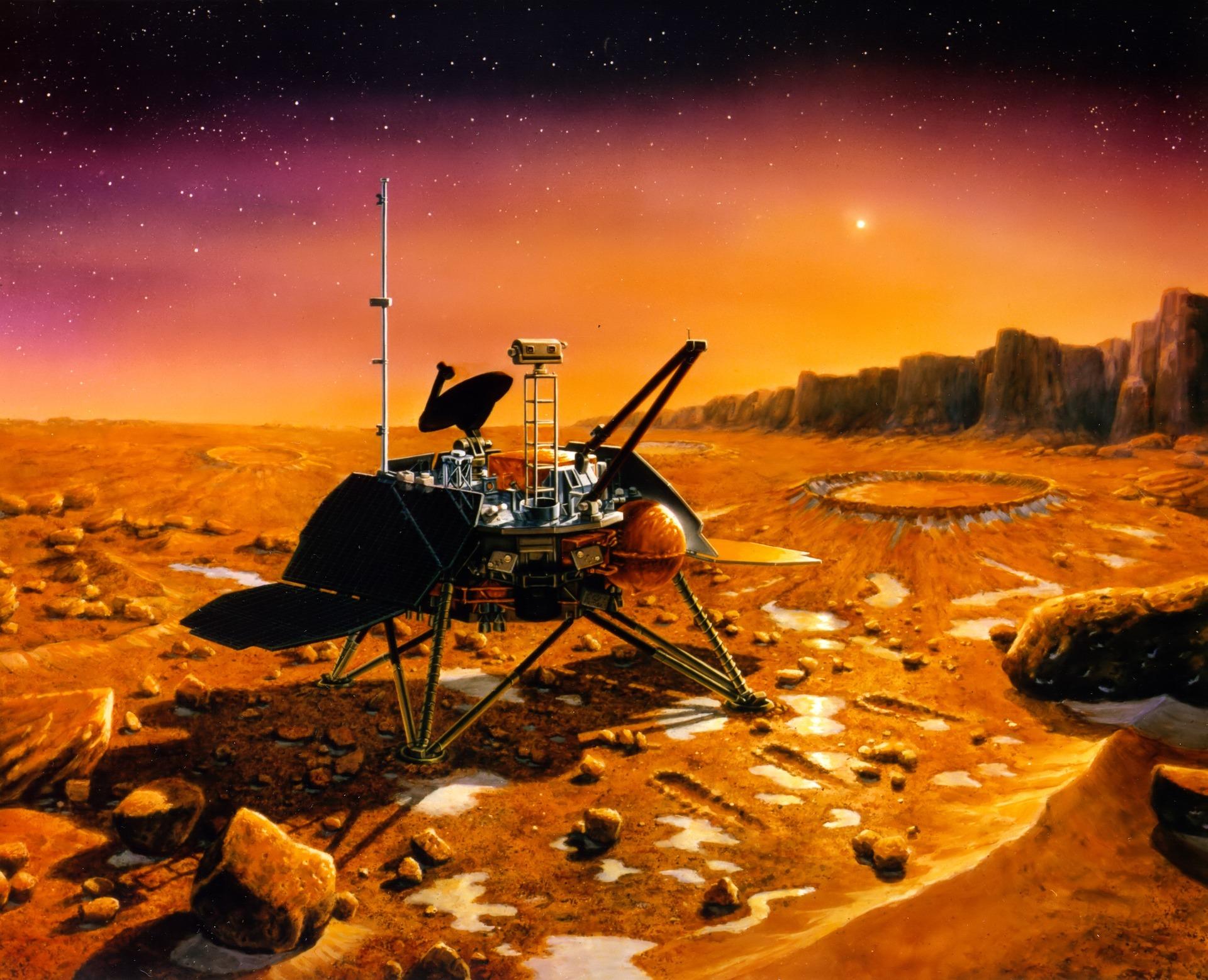 火星について