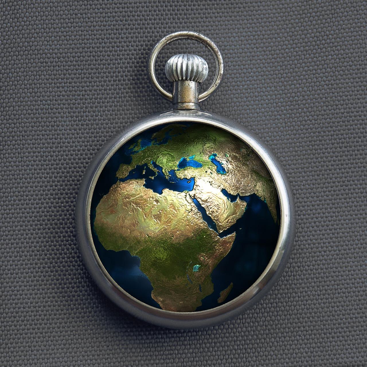 地球の時計