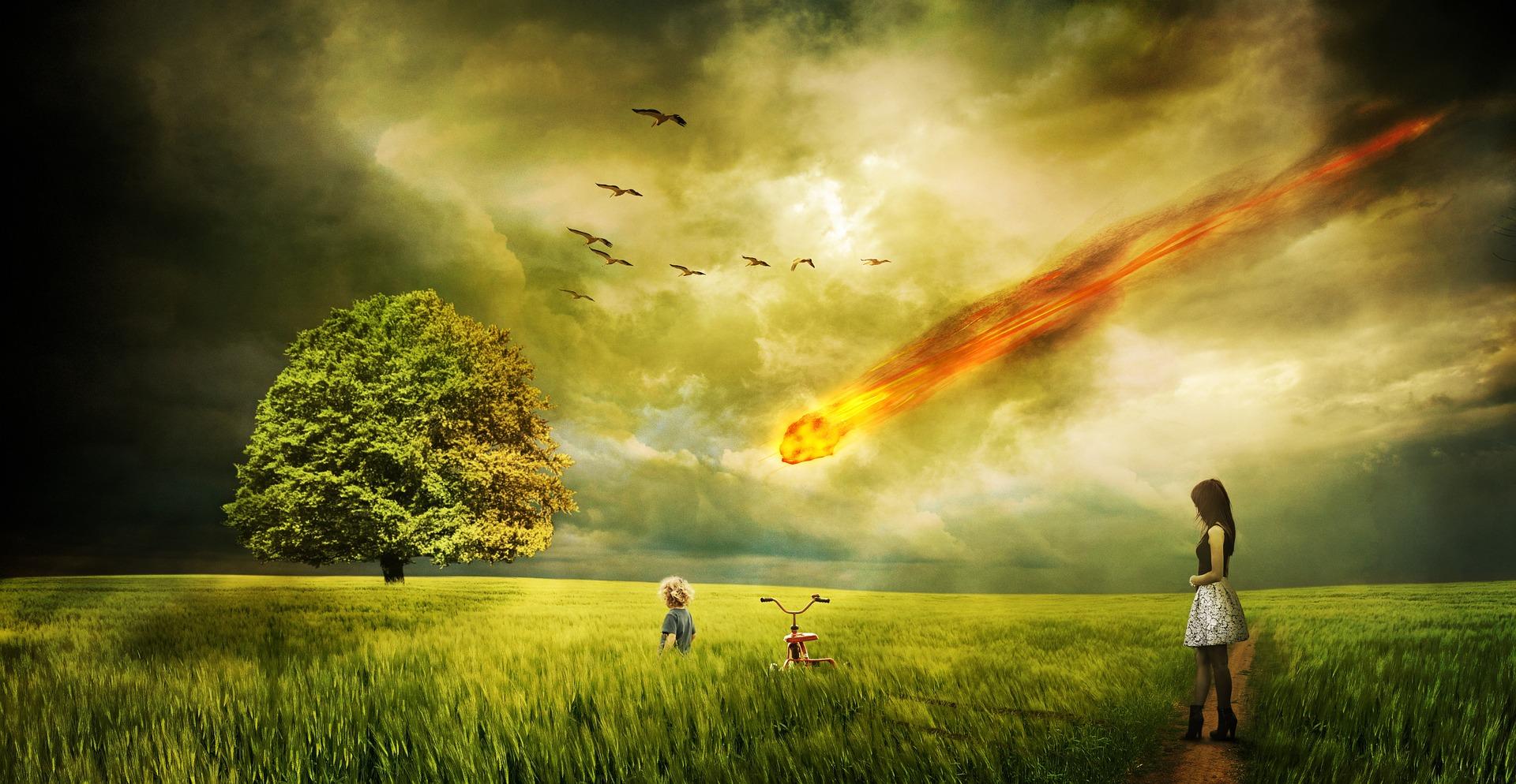 隕石落下 日本