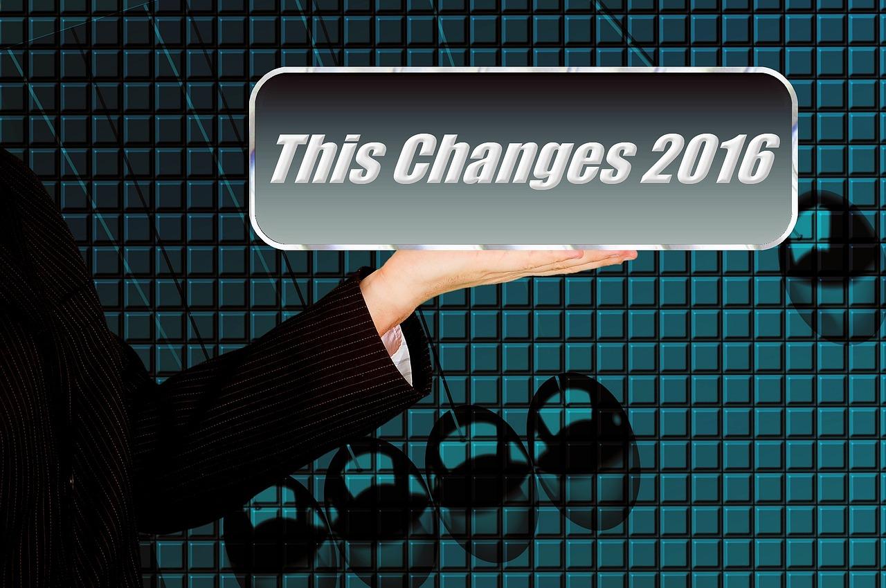2016年の変化を強調した画像