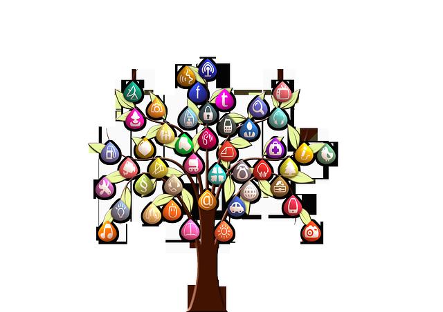 アプリの木