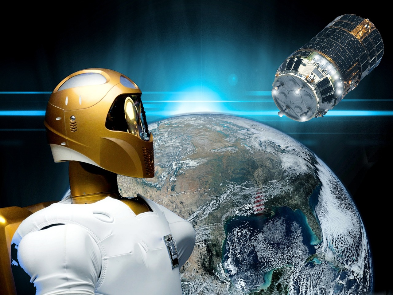 ISSとロボットと宇宙