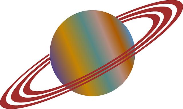 リングをもった惑星